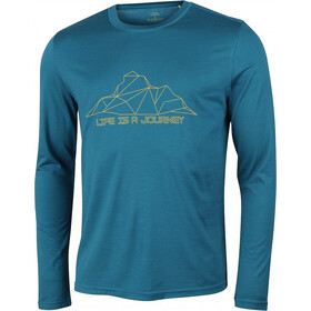 High Colorado Hornberg Merino Shirt Men blue saphire